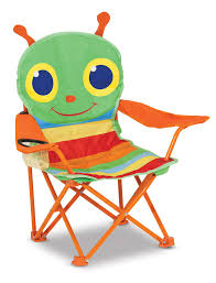 Outdoor Chair Amazon Com Melissa U0026 Doug Sunny Patch Happy Giddy Outdoor Folding
