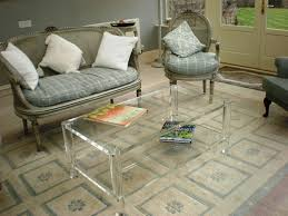 coffee table incredible clear acrylic coffee table design ideas