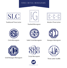initial monograms monogram meredith collie paper