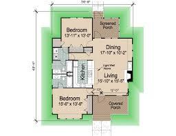 hip cottage sf southern cottages 2bdrm porches rev floor plan arafen