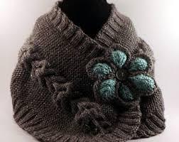 Knitted Chandelier Earrings Pattern Knit Neck Warmer Etsy