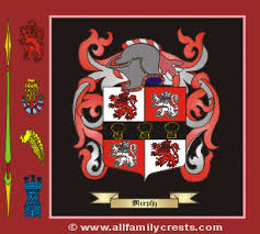 murphy family crest and meaning of the coat of arms for the surname