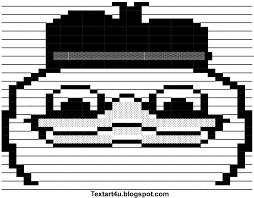Ascii Art Meme - dolan duck meme ascii art for facebook cool ascii text art 4 u