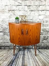 Vintage G Plan Sideboard Upcycled Retro G Plan Corner Cabinet On Hairpin Legs U2013 Studio27