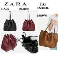Zara Indonesia Sisbrow Firsthand Original Branded Bags With Lowest Price