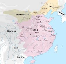 Hangzhou China Map by Song Dynasty Wikipedia