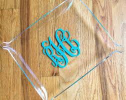 monogrammed trays monogrammed jewelry tray personalized jewelry tray