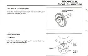 there is no timing mark on the crankshaft gear of my honda