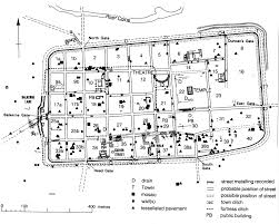 Ancient Roman Villa Floor Plan by Virtual Tour Of Colchester The Town Romanwall Trail