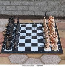 outdoor chess set stock photos u0026 outdoor chess set stock images