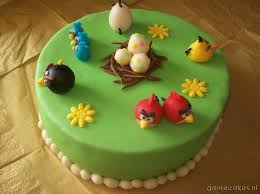 Marzipan Easter Cake Decorations by Happy Easter Angry Birds Easter Cake Gamecakes Nl