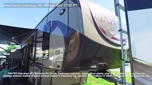 heartland gateway 5th wheel gw 3750 pt youtube