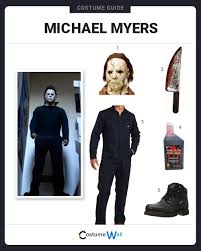 dress like michael myers scary characters michael myers and