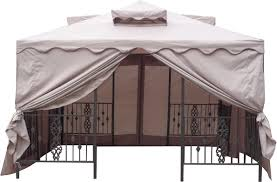 15 X 15 Metal Gazebo by Pacific Currents Inc Outdoor Furniture
