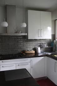 deco cuisine noir et gris best cuisine gris et blanc ideas design trends 2017
