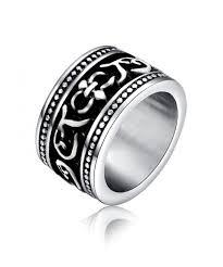 Guy Wedding Rings by 26 Best Viking Rings Images On Pinterest Vikings Punk And Skull