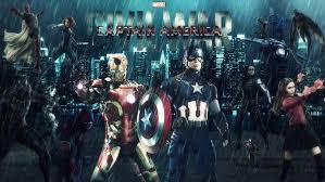 captain america new hd wallpaper captain america civil war hd wallpaper by theincrediblejake on