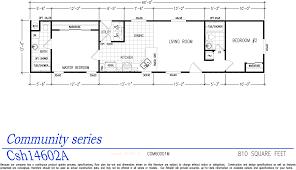 community series manufactured home floorplans el dorado homes