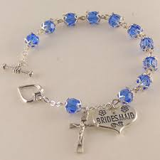 wedding rosary swarovski wedding rosary bracelet wedding shop usa