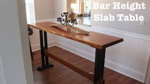Bar Height Conference Table Bar Height Slab Table How To