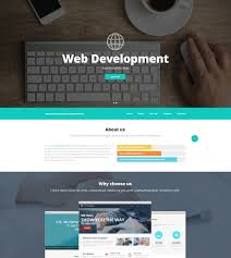 templates for website design web design and advertising website template 52537