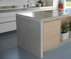 Island Kitchen Counter Concrete Countertop On Island Waterfall Style Kent Is Making Us