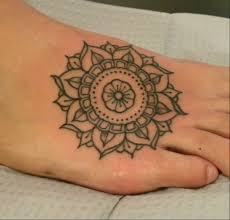 mandala feet tattoo photos pictures and sketches tattoo body art