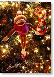 sock monkey greeting cards america