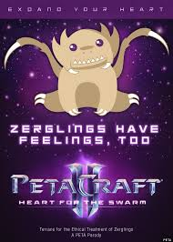 Starcraft Meme - starcraft ii peta call for ethical treatment of zergling alien