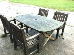 reclaimed wood outdoor table reclaimed wood patio furniture wooden garden furniture medium size
