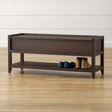 leather u0026 upholstered benches for your home crate and barrel