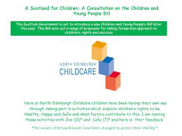 Be Like Bill Here S - a scotland for children a consultation on the children and young