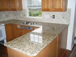countertop backsplash ideas santa cecilia granite santa cecilia granite oak kitchen cabinets