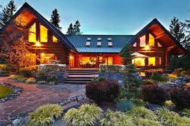 auburn log lodge on 15 acre estate lists for 1 2m curbed seattle