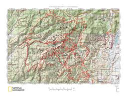 Sequoia National Park Map Capitolforest Jpg