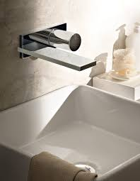 bathroom cool wall mounted faucet for elegant bathroom faucets
