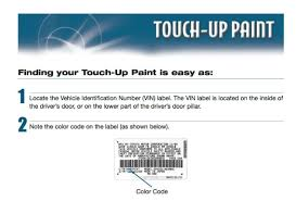 lexus is250 is350 touch up paint tube color code 1j7 atomic silver