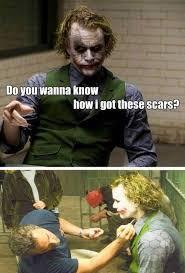 Dark Knight Joker Meme - little known facts about our favourite villain labelin4u