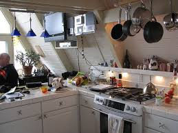 A Frame Kitchen Ideas Fancy Shmancy Kitchen Kitchens Cabin And Slanted Ceiling