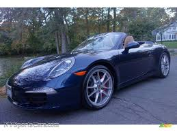 2013 porsche 911 s for sale 2013 porsche 911 s cabriolet in blue metallic
