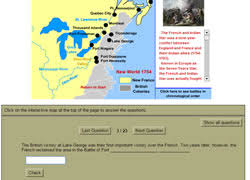 french and indian war activities