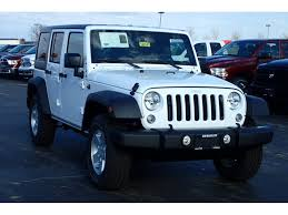 jeep rubicon white sport white jeep wrangler in illinois for sale used cars on buysellsearch