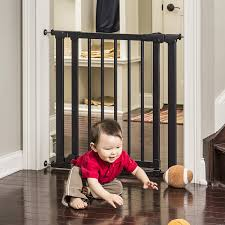 amazon com evenflo embrace wood and metal gate baby