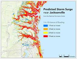 Storm Map Where Will Hurricane Matthew Cause The Worst Flooding Temblor Net