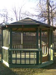 backyard screened gazebo write teens incredible screen houses