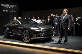 auto industry newsletter aston martin u0027unveils u0027 li s concept dbx