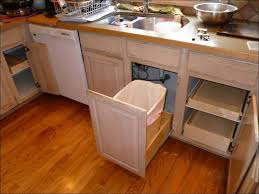 Kitchen Trash Cabinet Pull Out Kitchen Trash Cabinet Yeo Lab
