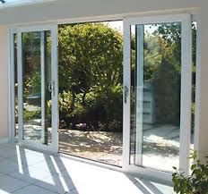 Upvc Sliding Patio Doors White Upvc 4 Pane Sliding Patio Doors Synseal 4200mm Wide X