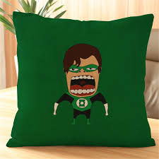 funny cartoon hero sofa throw pillows cover decorations for home