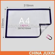 Magnetic Business Card Holder Colorful Frame A4 Magnet Holder Pocket Buy A4 Clear Holder 20